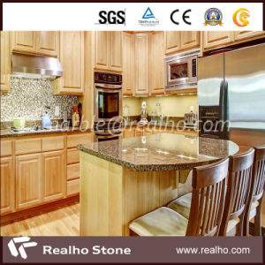 Polished Black/Blue Pearl/Yellow/Beige/Green/Black Galaxy Granite Marble Countertop pictures & photos