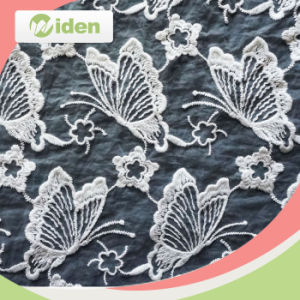 Embroidery Geometric Lace Fabric for Women Clothing pictures & photos