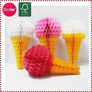 Tissue Paper Honeycomb Summer Decoration