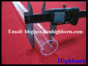 High Purity Ozone Free Quartz Glass Tubing Supplier pictures & photos