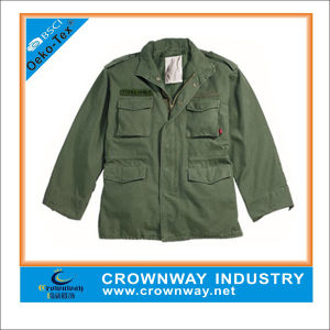 Mens Fashion Enzyme Washed Vintage Jacket with Multi Pockets pictures & photos