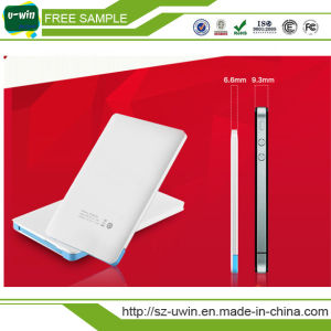 Christmas Gift Credit Card Portable Power Bank with Free Sample pictures & photos