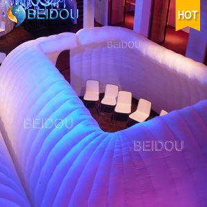 Outdoor Inflatable Car Igloo Clear LED Party Tents Inflatable Bubble Camping Dome Tent for Sale