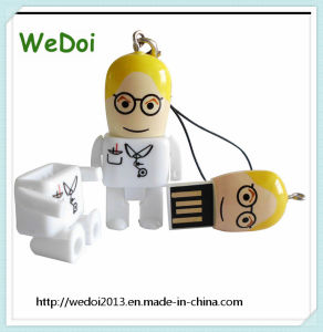 Lovely Doctor USB Flash Drive USB Stick with 1 Year Warranty (WY-PL112) pictures & photos