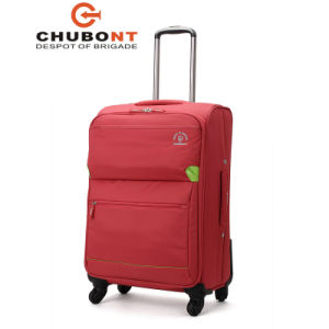 Chubont Fashion Water Proof Nylon and Full Lined Rolling Travel Luggage Bag pictures & photos