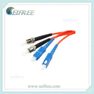 Sc-St Fibre Optic Patchcord Cable pictures & photos