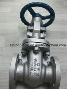 Carbon Steel Wcb Flanged End Gate Valve pictures & photos