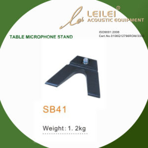 Ajustable Table Microphone Stand Base (SB41) pictures & photos
