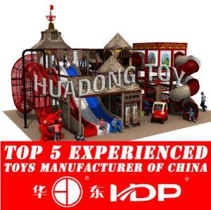 Huadong Indoor Playground New Style Ancient Tribe (HD2015B-014A) pictures & photos