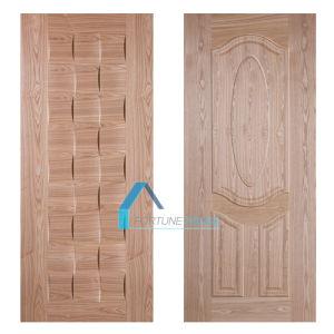Supply Moulded MDF Veneer Door Skin in Iran/Afghanistan Market pictures & photos