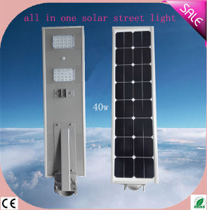 All in One Solar LED Street Light with Motion Sensor China Manufacturer pictures & photos