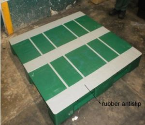 Non Slip Surfaces of Plastic Pallet (E1525)