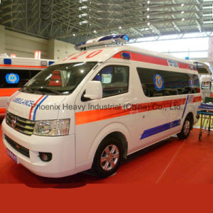 Airbag Petrol Engine Foton Ambulance with Stretcher pictures & photos