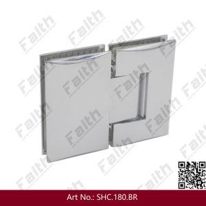Excellent Quality Frameless Glass Shower Hinge for Enclosue (SHC. 180. BR) pictures & photos