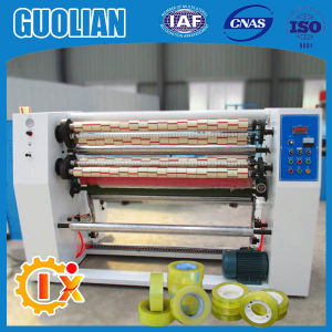 Gl-215 Carton Adhesive Tape Slitting Machine pictures & photos