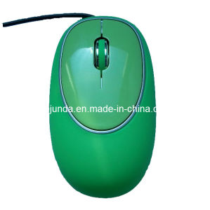 Soft Silica Gel Wired Mouse (S-M102)