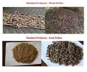 Wood Pellet Rice Husk Production Line for Sale pictures & photos