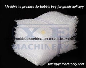 Double Line PE EPE Air Bubble Film Bag Making Machine (QPD) pictures & photos