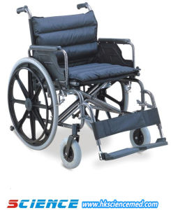 Steel Wheelchair Width Seat for Fat Person Use (SC-SW24-56) pictures & photos
