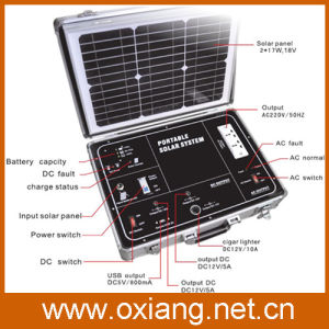 500W Solar Home System Portable Solar Generator pictures & photos