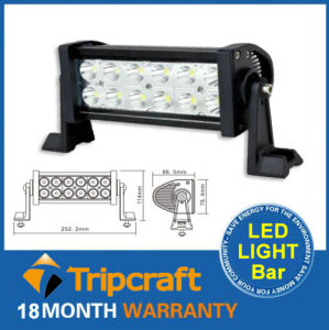 High Power 36W Waterproof Car LED off Road Light, Car LED Bar Working Light