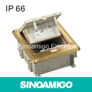 IP66 Split Joint Unction Box Outlet Floor Socket pictures & photos
