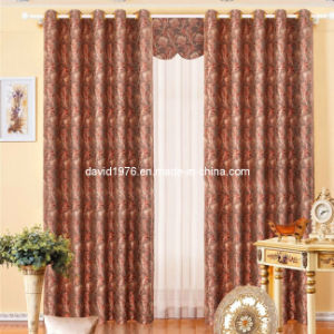 Hot Sale Jacquard Window Grommet Panel /Curtain (SZSMEJ015)