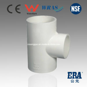 Pn10 Pressure PVC DIN Standard Fitting Reducing Tee pictures & photos