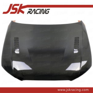 2010 with Hole Carbon Fiber Hood for Audi A4 B8 (JSK030120)