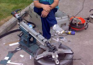 Dia220-630mm Portable Gate Valve Grinding Machine pictures & photos