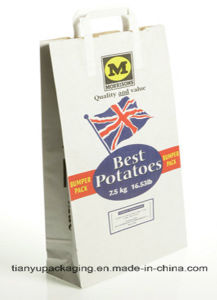 Eco Environmental Potato Packaging Paper Bag pictures & photos