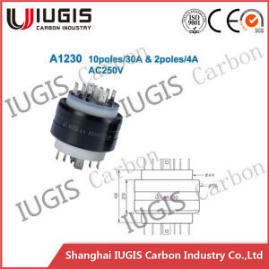 A1230 Cable Wheel Use Mercury Slip Ring 12 Poles pictures & photos