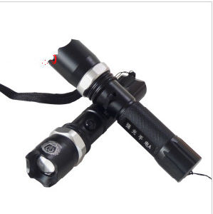 Super Bright Multifunction Police Flashlight with Strobe Light Stun Gun pictures & photos