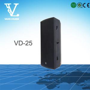 Vd-25 Dual 15′′ Good Performance Professional Loudspeaker Manufacturer pictures & photos