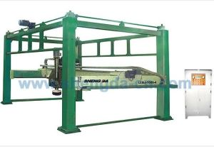 Gantry Pillars Cutting Machine (Horizontal blade) LLQJ-1600-4