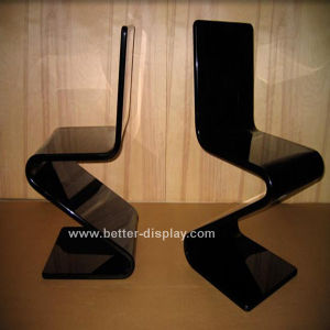 Acrylic Black Z Shape Dining Chair (BTR-Q3006) pictures & photos