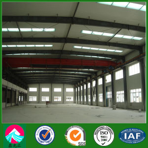 Prefabricated Steel Structure Building with Crane (XGZ-SSW 196) pictures & photos