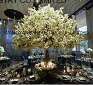 Factory Sell White Artificial Cherry Blossom Sakura Tree pictures & photos