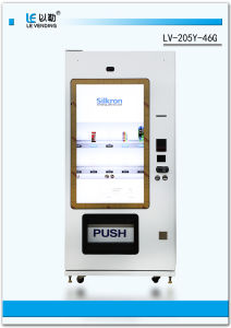 Combo Beverage Vending Machine with Touch Screen LV-205y-46 pictures & photos