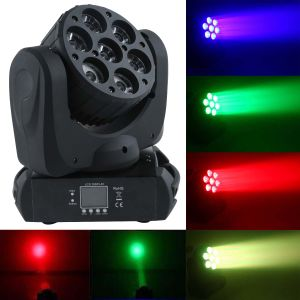 7*12W LED Moving Head Beam Wash Party/DJ Lighting pictures & photos