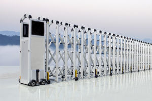 Aluminum Alloy Automatic and Expandable Gate (HM04YZ-B)