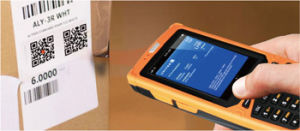 Rugged Wireless Barcode Scanner Support WiFi 3G GPRS NFC RFID GPS Bluetooth pictures & photos
