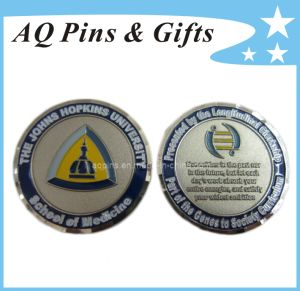 Soft Enamel Coins in Nickel Plating, Military Coin, Metal Coin pictures & photos