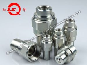 Kze-Ba Thread Locked Type Hydraulic Quick Coupling (STEEL) pictures & photos