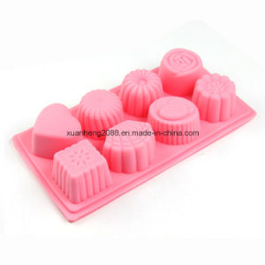 Chocolate Silicone Mold Candy Dessert Jello Mould Flowers Ice Cube Mold pictures & photos