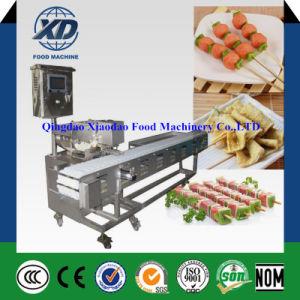 Commerical Meat Kebab Skewer Machine/ Meatball Kebab Making Machine/ Kebab Wiring Machine pictures & photos