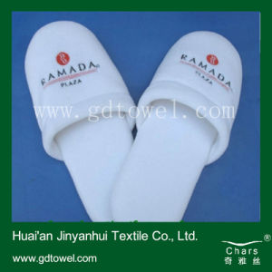 Home Use Towel Slippers/ Microfiber Towel Slippers/ White Soft Towel Slippers
