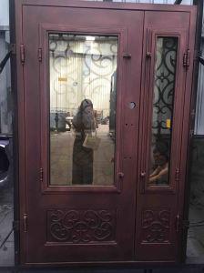 Handmade Customized Wrought Iron Door pictures & photos