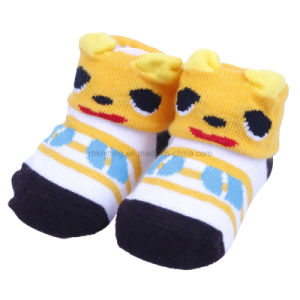 Baby Cotton Socks with 3D Effect Animal Design Bs-49