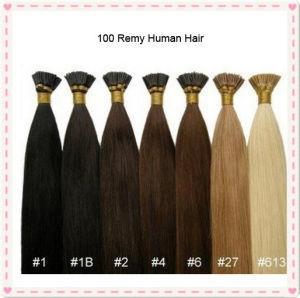 Keratin Brazilian Virgin Stick I Tip Human Hair pictures & photos